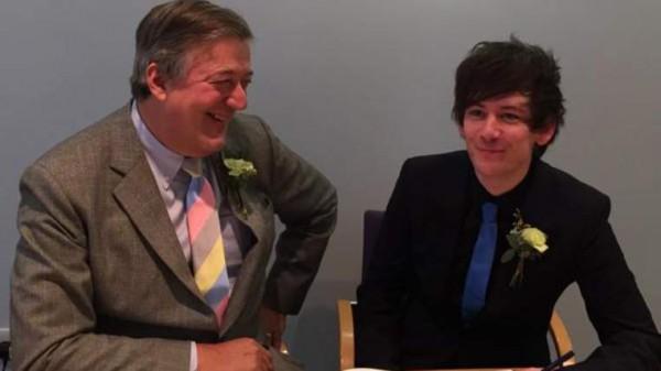 Стивен Фрай заключил брак с молодым бой-френдом Эллиотом Спенсером