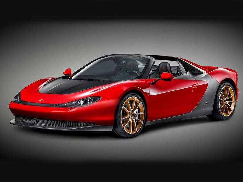 Новый серийный суперкар Ferrari получил имя «Серджио»