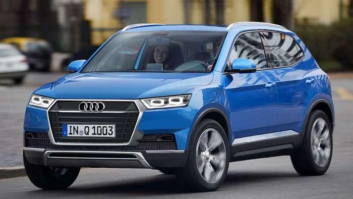 """Audi готовится к выпуску """"малыша» Q1"""