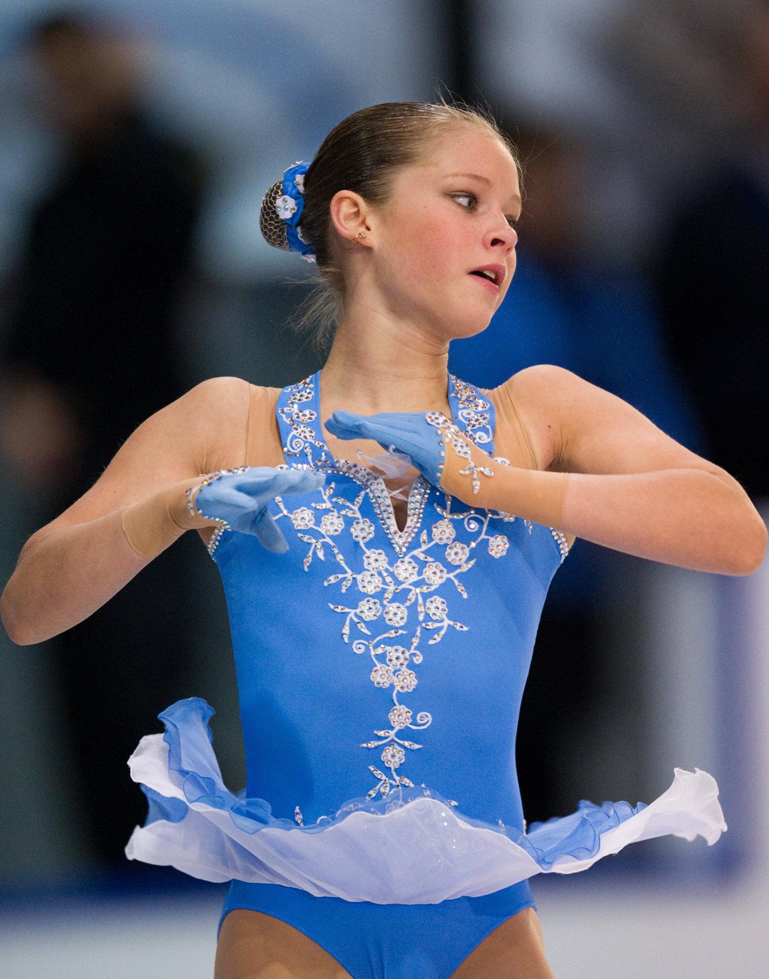 У юной фигуристки Юлии Липницкой появился спонсор