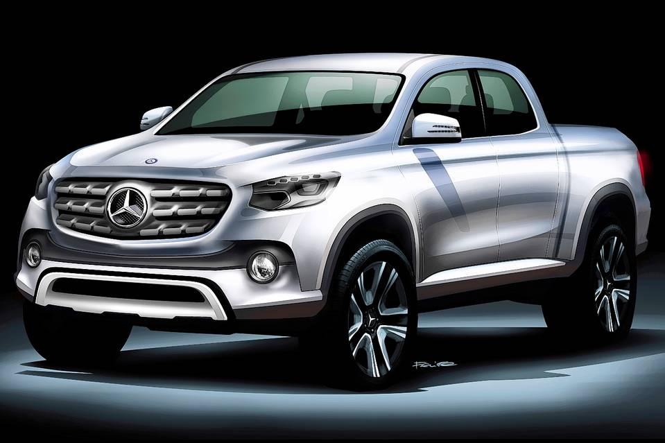 Mercedes-Benz решил построить пикап