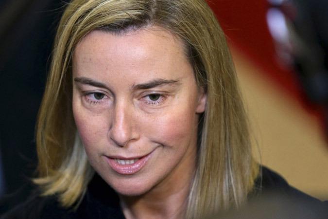 Федерика Могерини не поедет в Киев