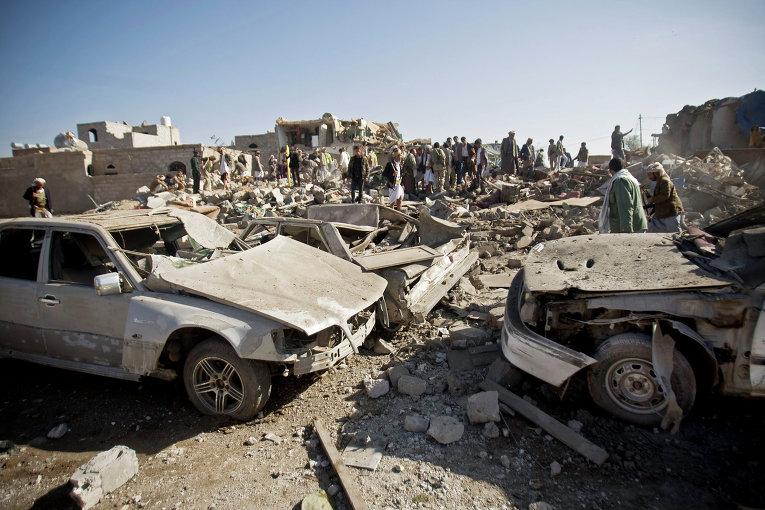 Саудовская Аравия вместе с союзниками расшила территорию, по которой наносятся авиаудары