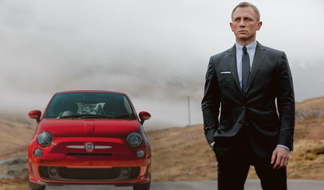 James Bond Fiat 500 new car movie 2015 Cover