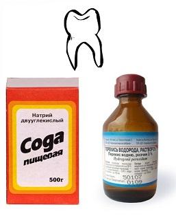 Перекись водорода и сода отбеливание белья в домашних условиях