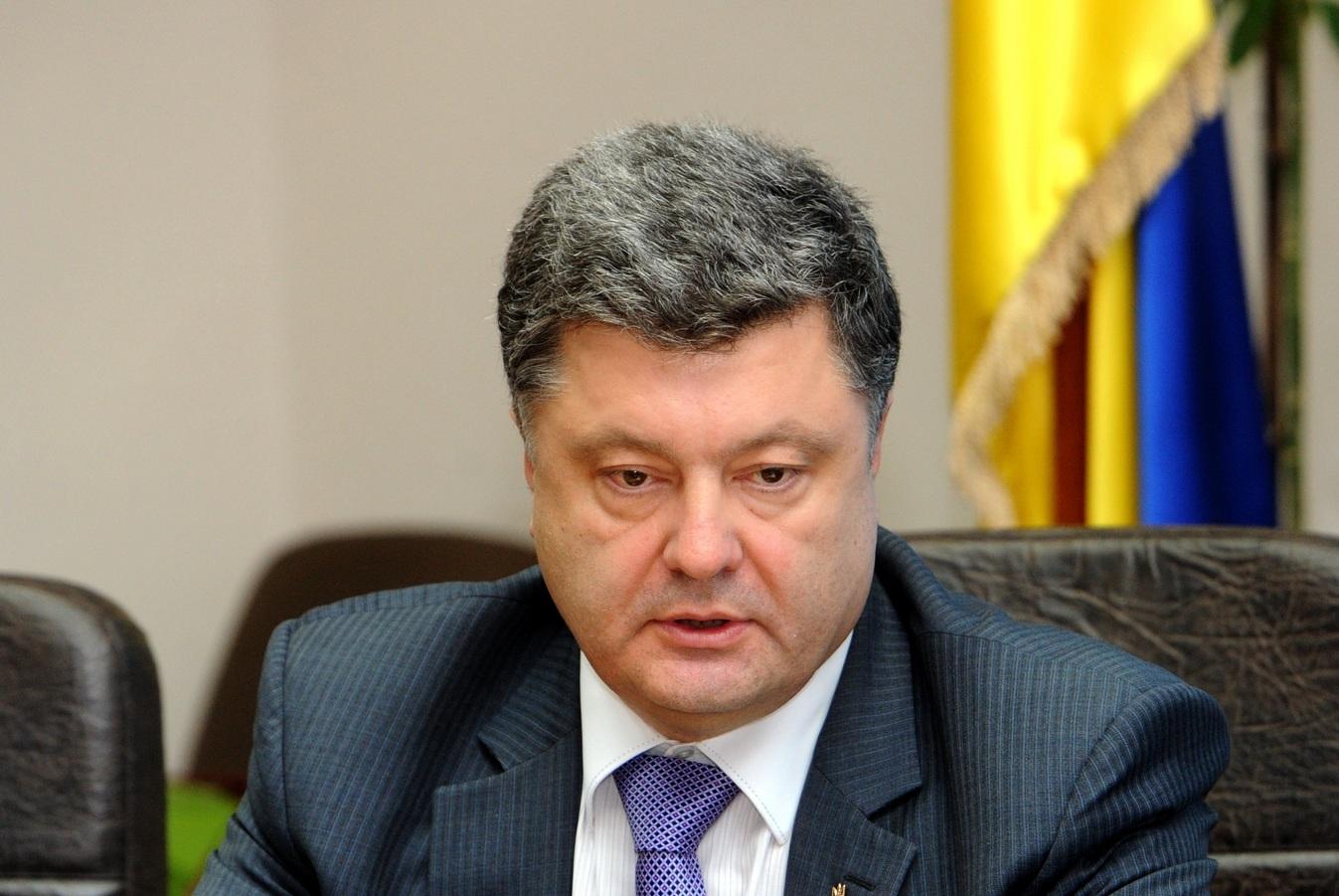 Петр Порошенко прибывает с рабочим визитом в Одессу