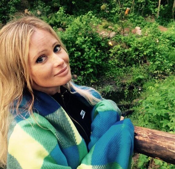 Дана Борисова отметила свой день рождения в походных условиях