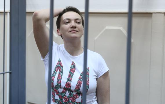 Савченко доставлена в СИЗО, где содержался Чикатило