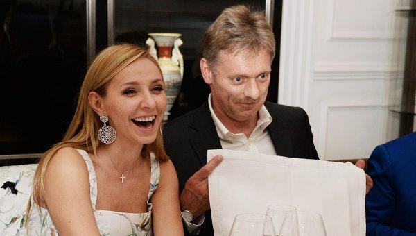 Татьяна Навка и Дмитрий Песков отпразднуют свадьбу на крыше