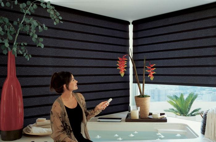 Рулонные шторы с электроприводом: удобство и практичность
