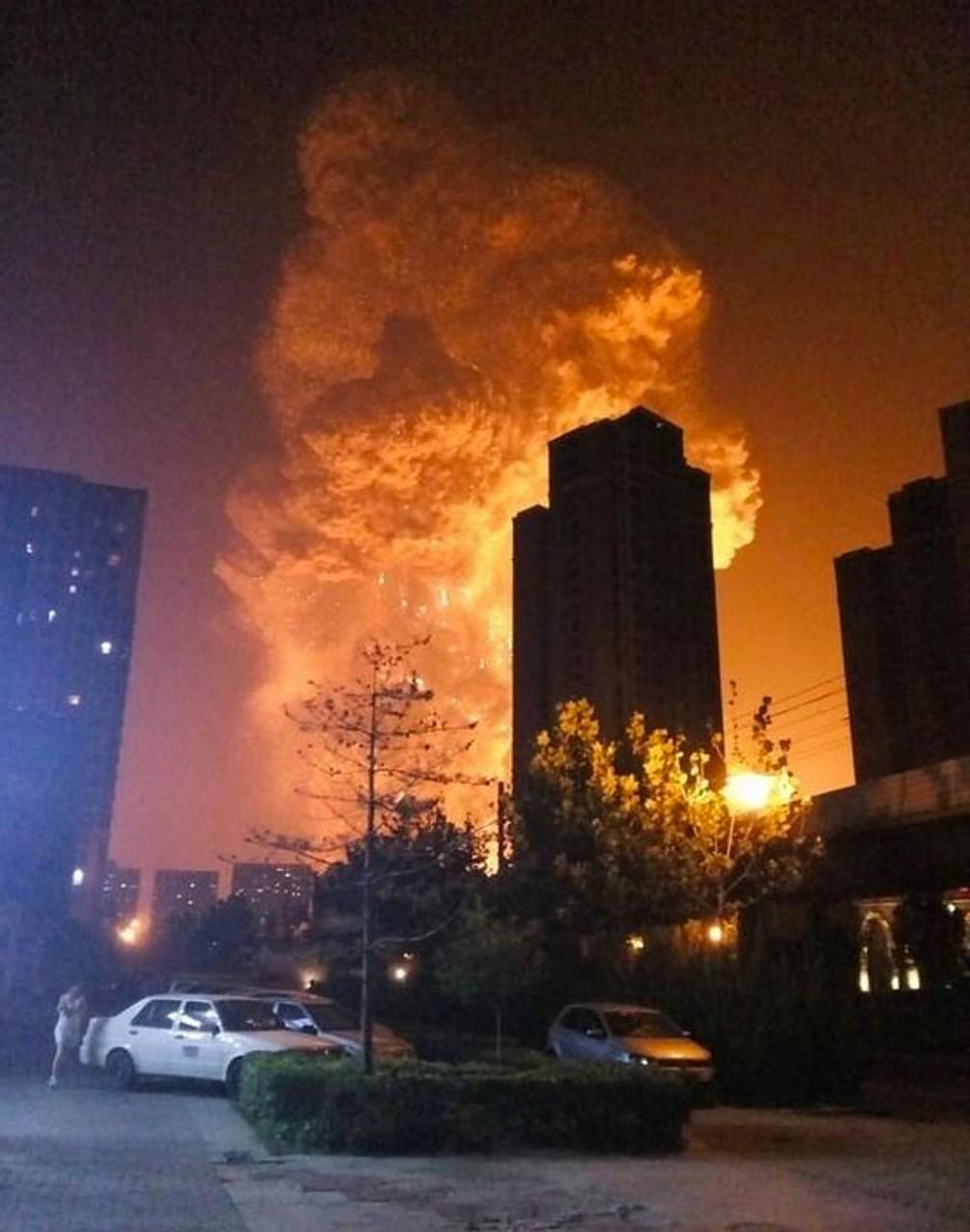 Трагедия Тяньцзинь