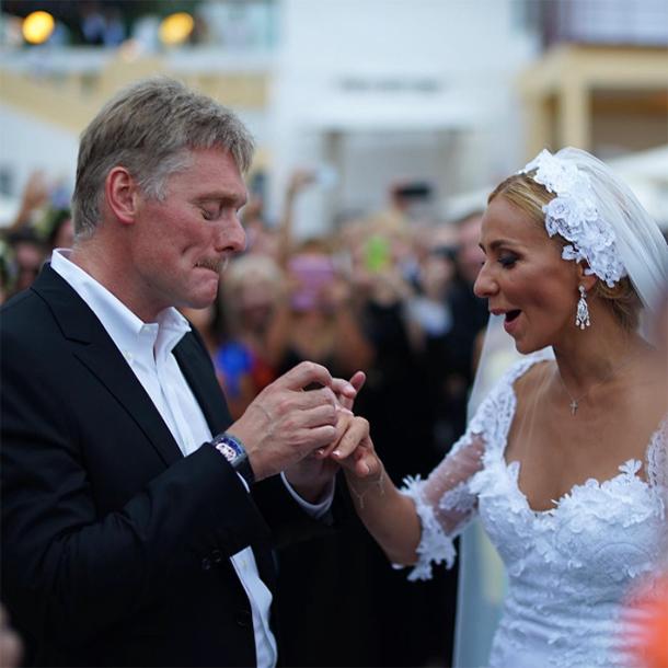 Татьяна Навка: первые впечатления от церемонии бракосочетания