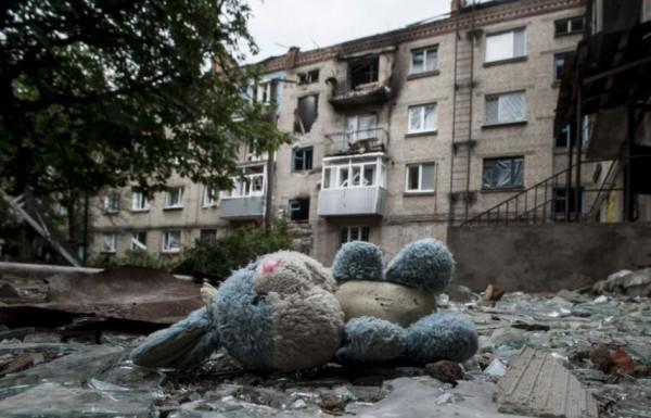 С 5 на 6 августа в Горловке погиб мирный житель