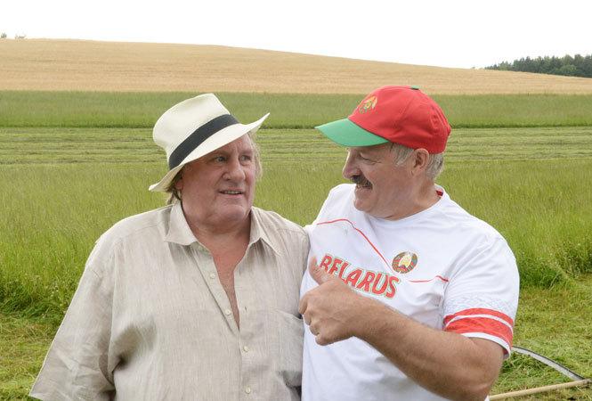 Жерар Депардье мигрирует в Белоруссию