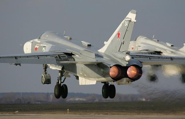 Боевая авиация России вылетела в Сирию