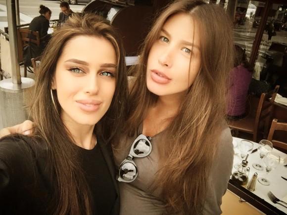 Кети Топурия и Миранда Шелия