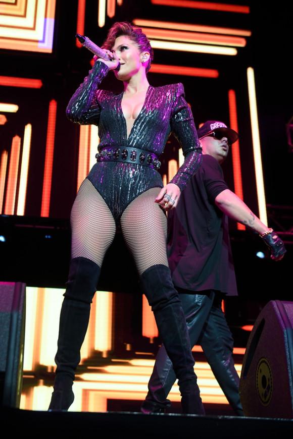Jennifer Lopez and Wisin