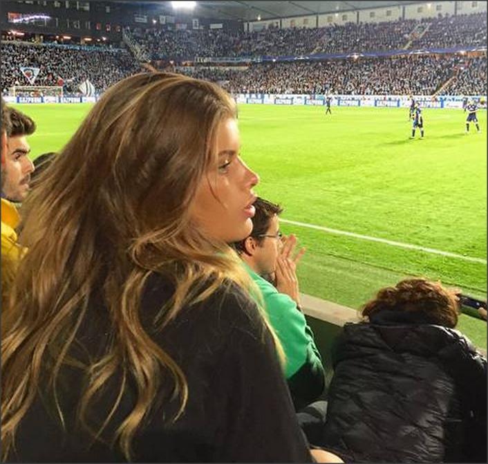 Криштиану Роналду сошелся с сексуальной датчанкой