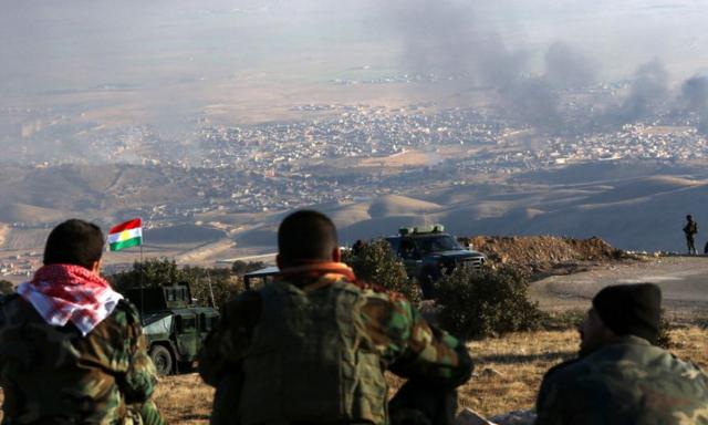 Курды официально подтвердили взятие Синджара