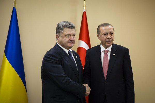 Порошенко ждет прорыва от встречи с Эрдоганом в Турции