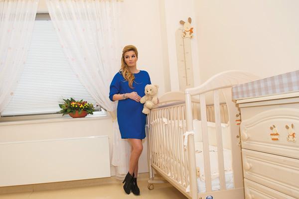 Ксения Бородина приготовилась к родам