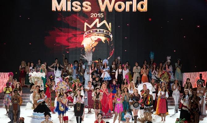 Итоги конкурса Мисс Мира 2015