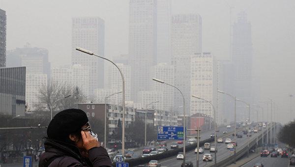 Власти Китая начали борьбу с загрязнением воздуха