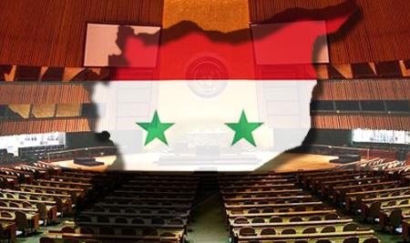 Сирия обратилась с протестом в ООН
