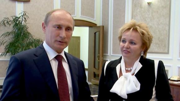 Владимир Путин с женой Людмилой