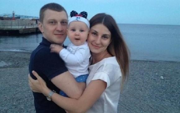 Антон Самчук с семьей
