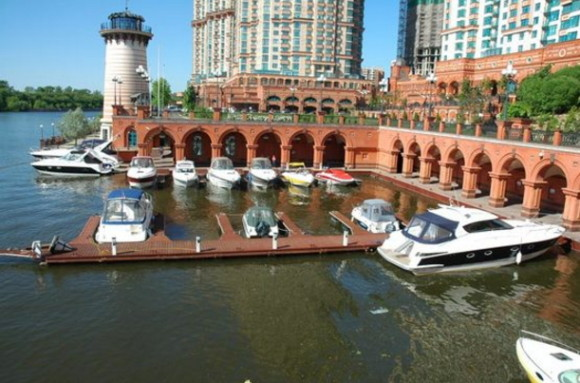 ЖК Алые паруса яхт-клуб фото