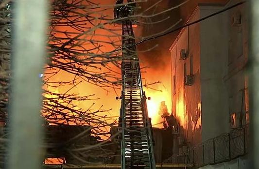 Стромынка пожар 30 января