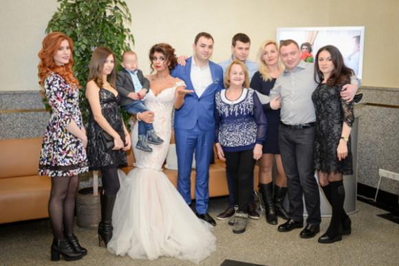 Алиана Устиненко и Александр Гобозовы вторая свадьба