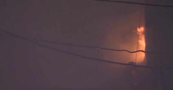 пожар на улице Стромынка