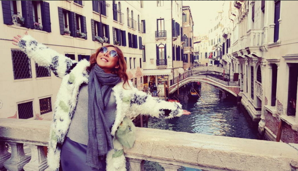 Анита Цой рассказала о своем удивительном путешествии в Венецию