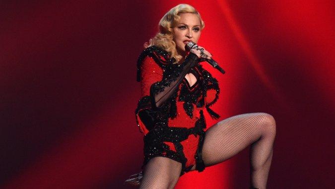 Пьяная Мадонна шокировала зрителей Кентукки