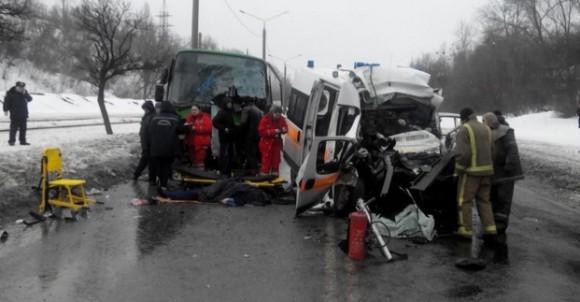 ДТП в Харькове 2 февраля