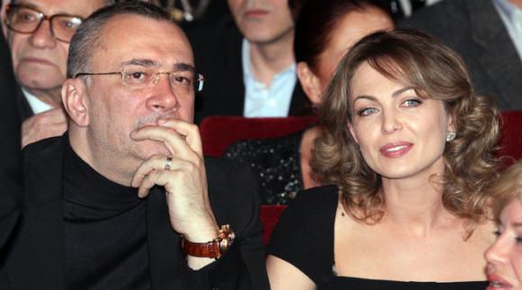 Константин Меладзе с экс-супругой Яной