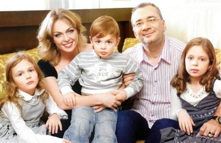 Меладзе с первой женой и детьми