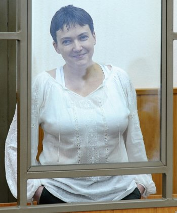 Сухая голодовка Надежды Савченко прекращена