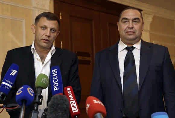 Плотницкого и Захарченко планируют поменять на Бойко и Ахметова