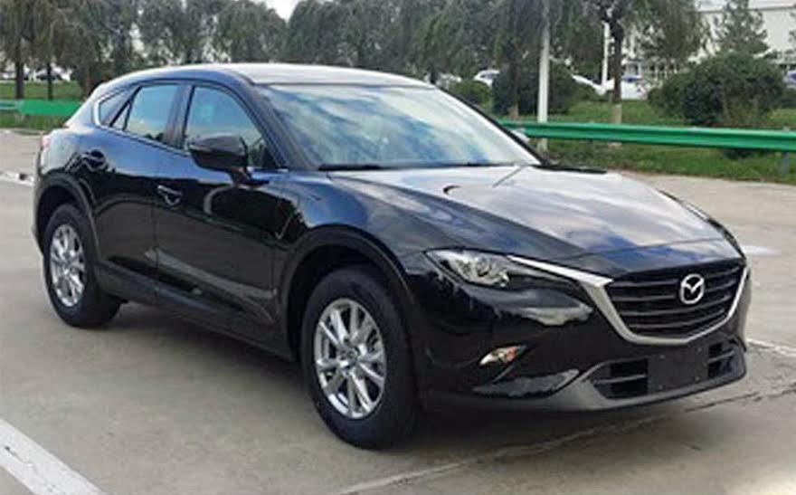 Новый кроссовер Mazda CX-4 первые фото «без цензуры»
