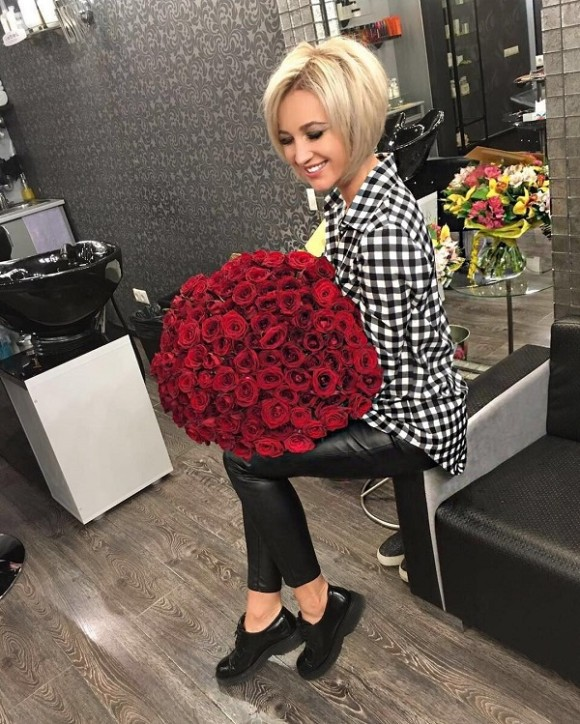 Ольга Бузова стрижка 2016