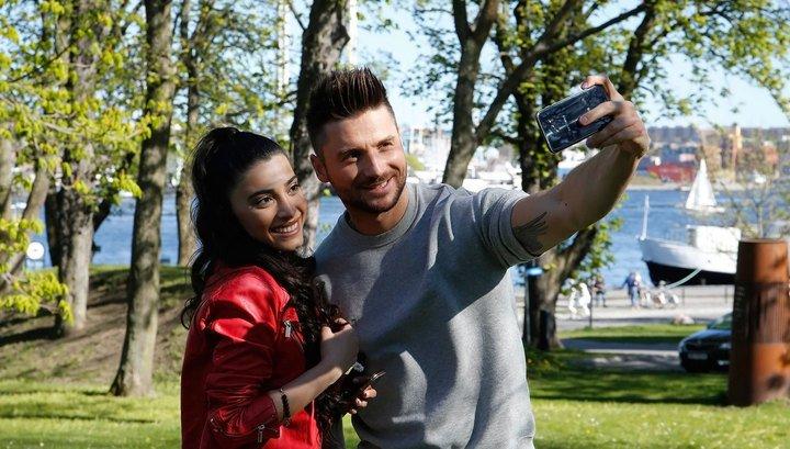 Сергей Лазарев на «Евровидении 2016» очарован представительницей Азербайджана