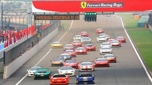 Впервые в России - Ferrari Racing Days