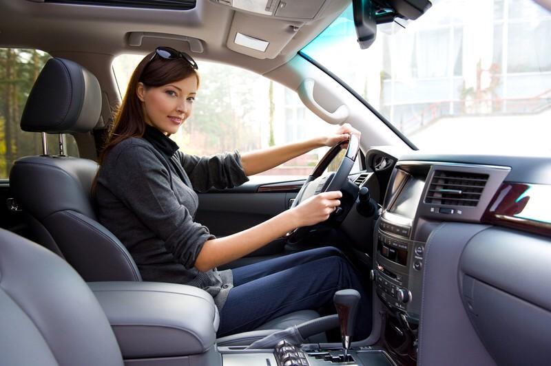 Дресс-код для дам за рулем