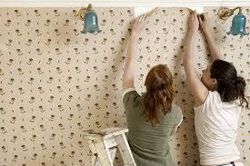 Совет по оклейке стен флизелиновыми обоями