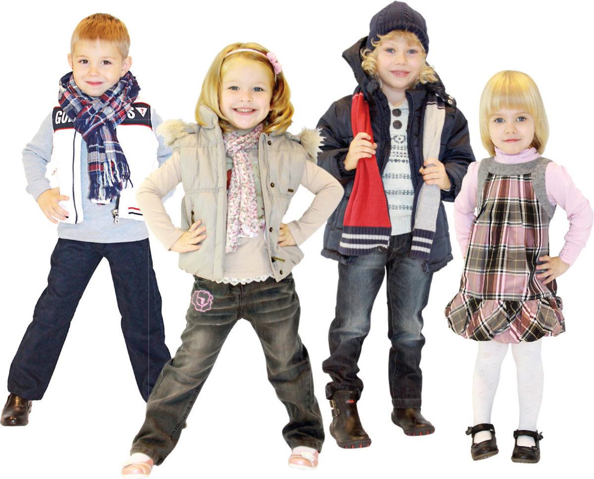 Как правильно выбрать одежду для ребенка.