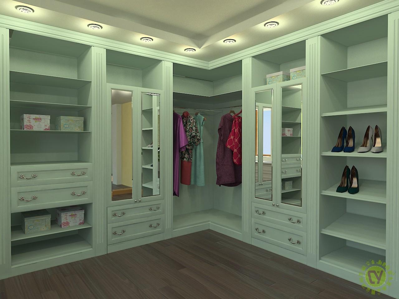 Элитная гардеробная – основа комфортной обстановки