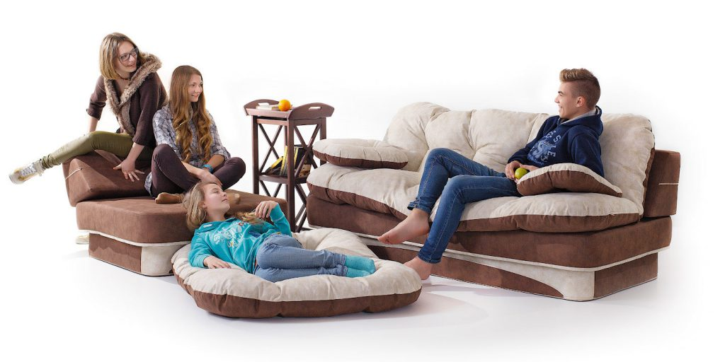 Какой бескаркасный диван подобрать в дом. Мода на бескаркасную мебель